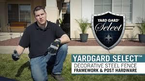 Installation Information Yardgard Select