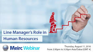 line managers role in human resources