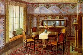 vintage home wall decor from the 1910s