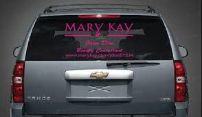 Personalized Mary Kay Decal For Your Business Etsy