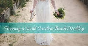 beach wedding at topsail island