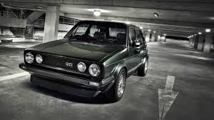cars vehicles volkswagen golf gti