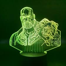 3d Lamp Thanos Night Light For Children Gift Bedroom The Avengers Lamp Touch Sensor Nightlights Decorative Led Night Light Kids Buy At The Price Of 11 75 In Aliexpress Com Imall Com