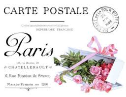 Vintage French Cartel Postal Furniture Transfers Waterslide Decals Mis640 Roses Violets U Pic French Vintage Large Decal Decal Paper