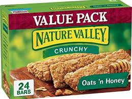 crunchy oats n honey nutrition facts