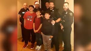 blue santas mcalester police officers