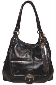 extra large black leather hobo bag