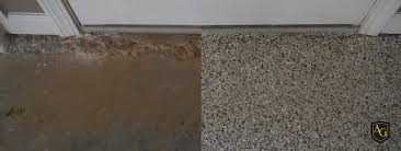3 car cappuccino garage floor