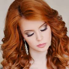 makeup for redheads brown eyes