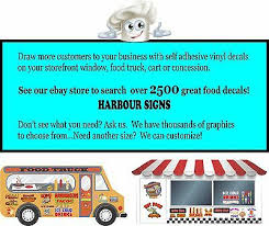 Food Truck Concession Vinyl Sign Sticker Kettle Corn Decal Choose Your Size Restaurant Food Service Business Industrial