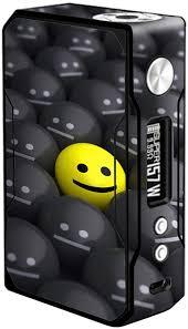 Amazon Com Skin Decal Vinyl Wrap For Voopoo Drag 157w Tc Resin Reg Vape Mod Skins Stickers Cover 1 Yellow Happy Emoji With Sad