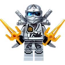 LEGO Ninjago - Zane Titanium Ninja with Gold & Silver weapons ...