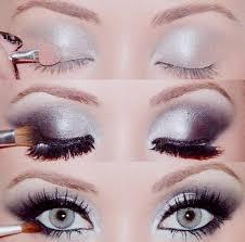 smokey eye wedding makeup for blue e