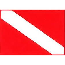 Dive Flag Sticker