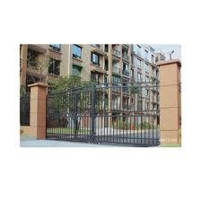 European Style Wrought Iron Fence Gate Galvanized Steel Doors Iron Main Gate Design Buy Iron Gate Design Wrought Iron Gate Fence Gate Product On Alibaba Com