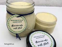 beeswax body moisturizer lotion recipe