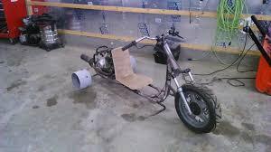 homemade motorized drift trike drift