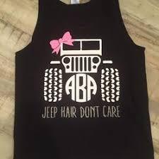 Tanks Tees Tagged Jeep Monogram Shirt Strut