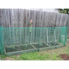 Boen 40 In X 25 Ft Green Plastic Garden Fence Gf 50001 The Home Depot