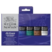newton artisan water mixable oil color