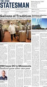 The Utah Statesman, January 7th, 2020 by USU Digital Commons - issuu