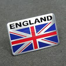 United Kingdom England Britain National Flag Car Decal Emblem Badge Sticker Ebay