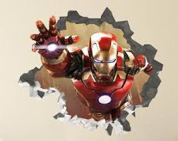 Marvel Wall Decal Etsy