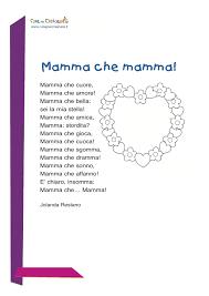 Poesia per la festa della mamma | Idee per la festa della mamma ...