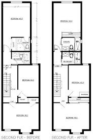 row house diy on a budget floor plans
