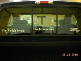 Let S See Them Rear Window Decals Page 5 Ford Truck Enthusiasts Forums