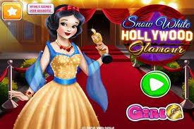snow white hollywood glamour make up