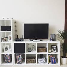 Ikea Kallax Tv Unit Ikea Living Room Kallax Ikea Home Decor