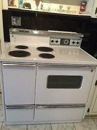 general electric oven range vintage