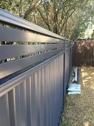 Colorbond Fencing Custom Auto Gates Fencing