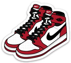 Air Jordan 1 Sticker In 2020 Vans Stickers Fun Stickers Vinyl Stickers Laptop