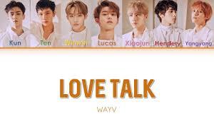 WayV - Love Talk (English ver.) [Color Coded Lyrics] - YouTube