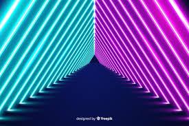 neon lights se wallpaper free vector