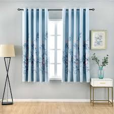 Pastoral Printed Short Curtains For Children S Bedroom Kids Window Treatments Curtain For Kitchen Living Room Blackout Drapes Curtains Aliexpress