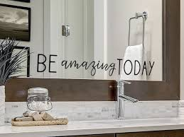 Be Amazing Today Vinyl Wall Decal Sticker Motivational Quote Story Of Home Decals