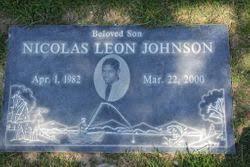 Nicolas Leon Johnson (1982-2000) - Find A Grave Memorial