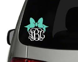 Pin On Custom Vinyl Decals Monogram Yeti Wall Car Funny Preppy Custom Stickers