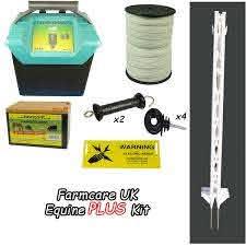 Equine Plus Starter Kit Tall Posts Electric Fencing Electric Fencing Kits Horse Kits Farmcare Uk Farmcareuk Com