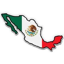 Mexico Shape Flag Eagle Mexican Pride 3 Vinyl Sticker For Car Laptop I Pad Phone Helmet Hard Hat Waterproof Decal Walmart Com Walmart Com