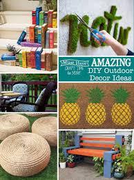amazing diy outdoor decor ideas the