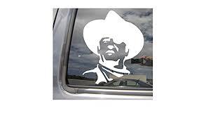 Western Texas John Wayne Paniolo Car Window Vinyl Decal Sticker 10143 Cowboy