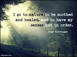 famous nature quotes sayings
