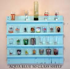 shot glass shelf shot glass holder