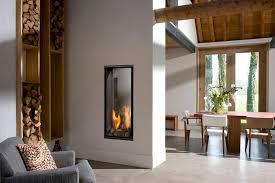gas fireplace vertical bell 3