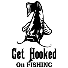Hook Fishing Decal Window Car Sticker Funny Humor Fish Car Decal Sticker Pvc Motorcycle Car Decal Sticker Black White 16cm 11cm Car Stickers Aliexpress