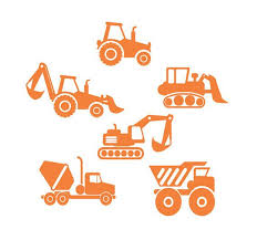 Construction Truck Wall Decal For Boy Room Decor Construction Etsy Wall Decal Sticker Personalized Wall Decals Vinyl Wall Stickers